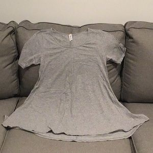 Grey Lularoe small perfect tee shirt
